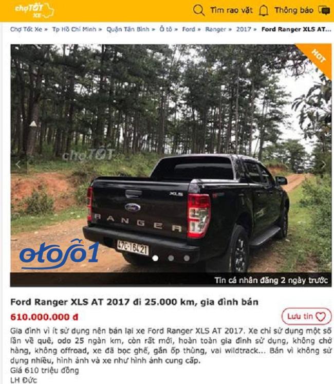 Ford Ranger cũ có mất giá sau nhiều năm sử dụng? 3
