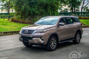 Bảng giá xe 7 chỗ gầm cao SUV mới nhất tại Việt Nam 2