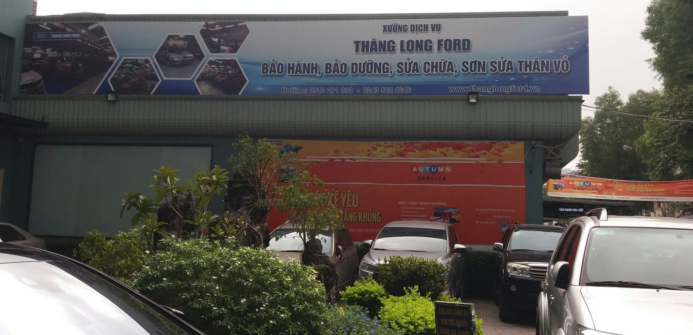 Đại lý Ford ở Hà Nội