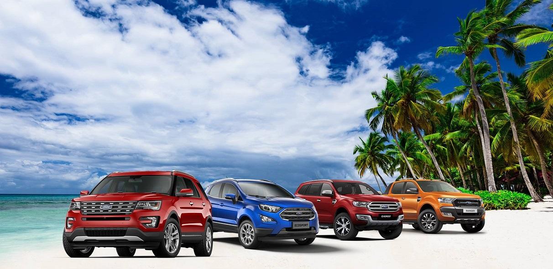 Bảng giá xe Ford mới nhất - Giá xe Ford tốt nhất hiện nay