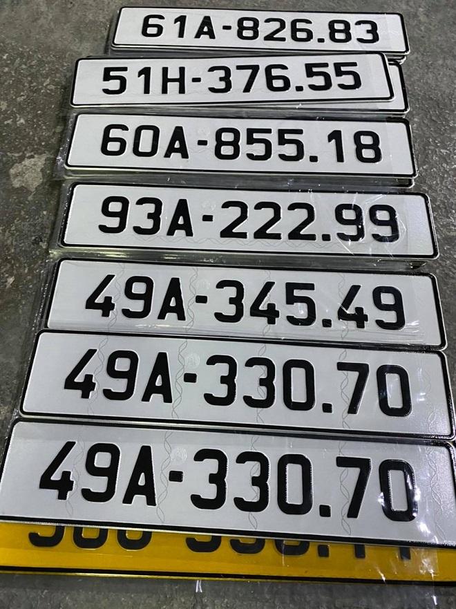 Mẫu đơn xin cấp đổi biển số dài cho xe ô tô mới nhất 3