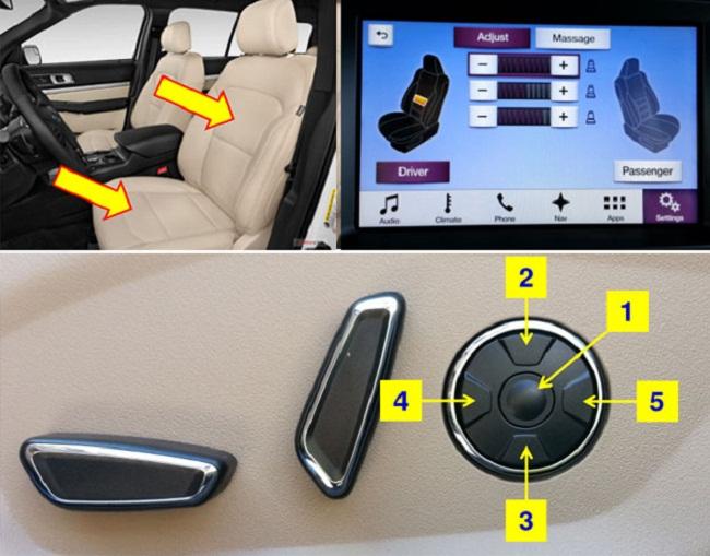 Hướng dẫn sử dụng các tính năng trên Ford Explorer 10