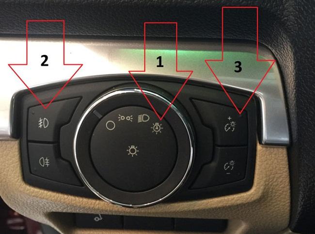 Đèn pha tự động Ford Explorer