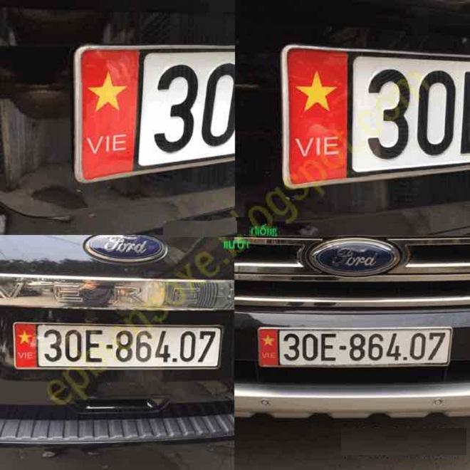 Dịch vụ làm hai biển số dài cho ôtô tại Việt Nam - Hướng dẫn đăng ký xe ô tô 3