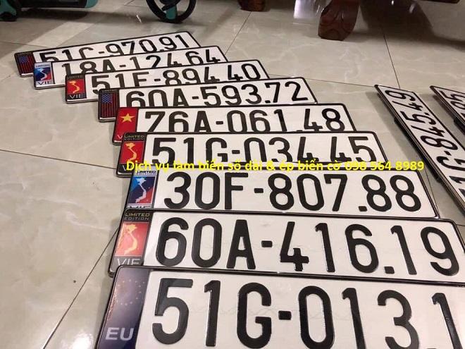 Dịch vụ làm hai biển số dài cho ôtô tại Việt Nam - Hướng dẫn đăng ký xe ô tô 10