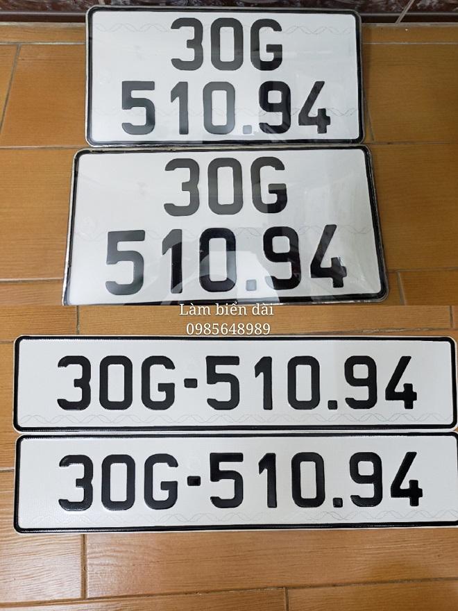 Dịch vụ làm hai biển số dài cho ôtô tại Việt Nam - Hướng dẫn đăng ký xe ô tô 8