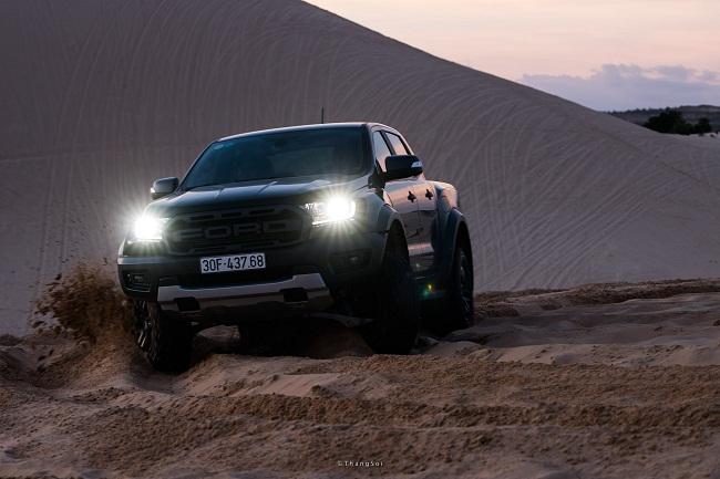 Đánh giá Ford Ranger Raptor sau khi đi được 8.000 km với nhiều địa hình khách nhau 4