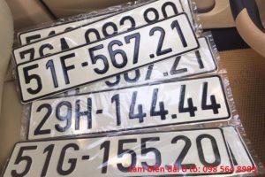 Dịch vụ làm hai biển số dài cho ôtô tại Việt Nam - Hướng dẫn đăng ký xe ô tô 6