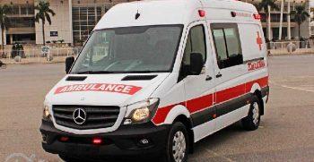 Xe cứu thương Mercedes Sprinter Ambulance nhập khẩu 10