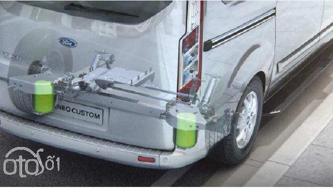 Điểm mạnh của dòng xe đa dụng MPV Ford Touner 4