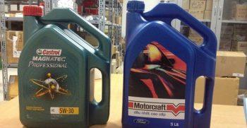 Dầu máy, dầu động cơ xe Ford và những điều cần biết khi thay đàu xe Ford 10