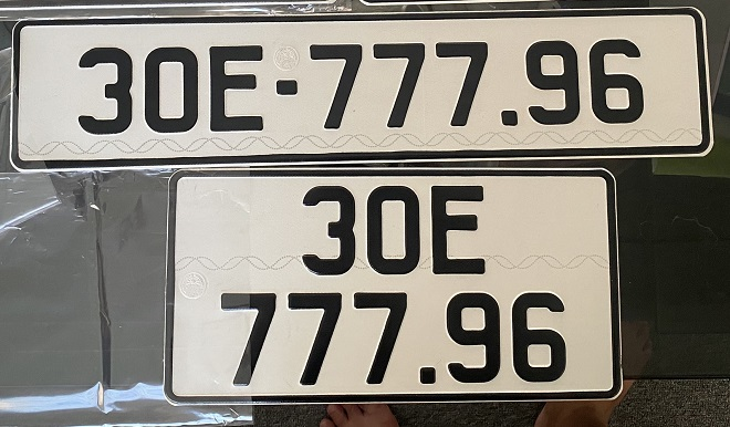 Biển số dài ô tô - Thủ tục làm và chi phi làm biển sô dài xe hơi 3