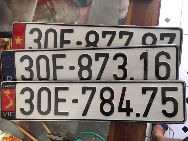 Biển số dài ô tô - Thủ tục làm và chi phi làm biển sô dài xe hơi 12