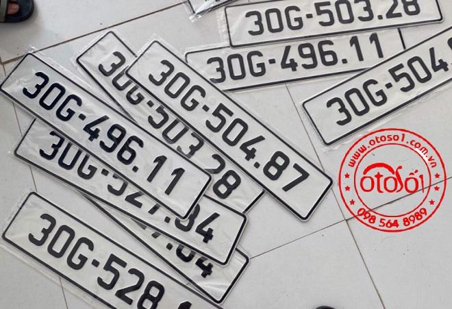 Dịch vụ làm hai biển số dài cho ôtô tại Việt Nam - Hướng dẫn đăng ký xe ô tô 13