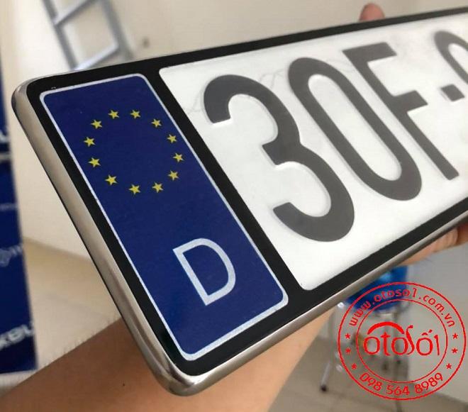 Dịch vụ ép biển số, cung cấp khung biển số có hình quốc kỳ, cờ các nước 7