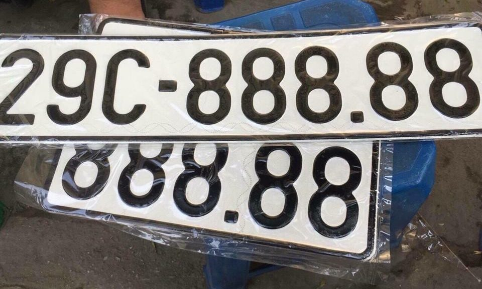 Biển số xe ô tô đẹp và cách luận biển số xe 1