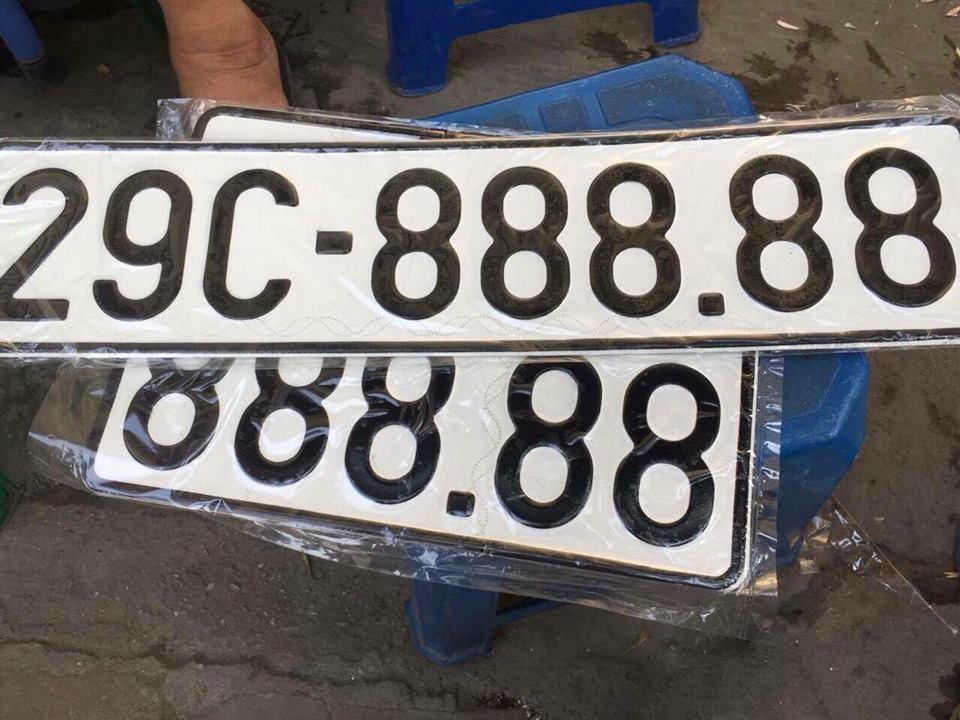 Biển số xe ô tô đẹp và cách luận biển số xe