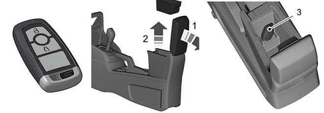 Hướng dẫn sử dụng chìa khóa thông minh Ford 6