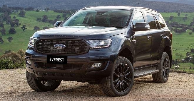 Báo giá chi phí bảo dưỡng xe Ford Everest