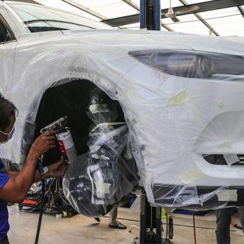 Có nên sơn phủ gầm xe ô tô không?