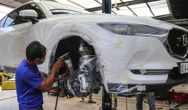Có nên sơn phủ gầm xe ô tô không? 1