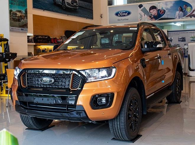 Ford Ranger Wildtrak: giá lăn bánh và các khuyến mại mới nhất
