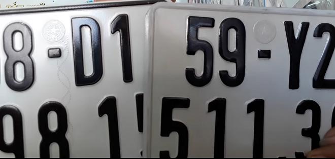 Phân biệt biến số xe thật và biển số xe giả 8