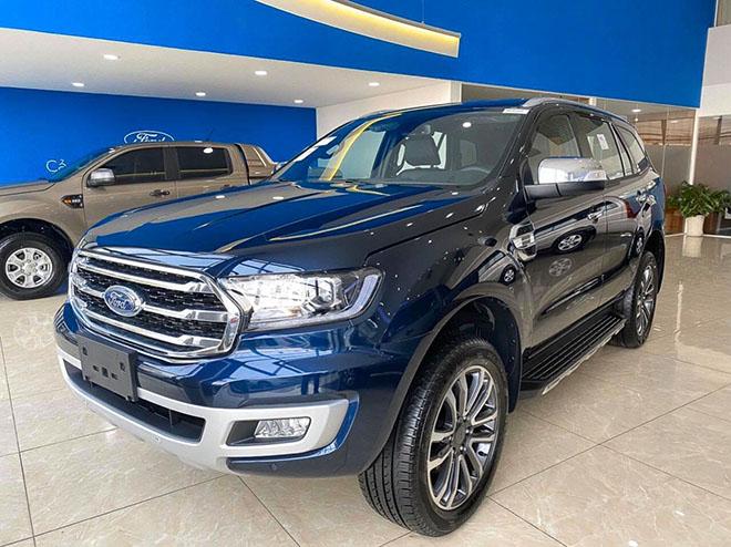 Mức tiêu thụ nhiên liệu của Ford Everest 1