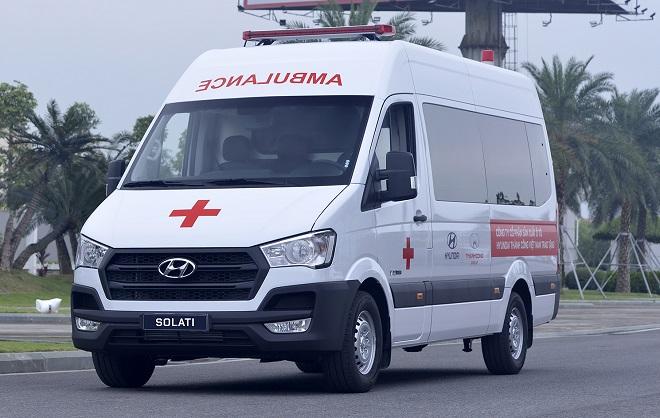 Hyundai Solati cứu thương - Giá xe và trang thiết bị y tế hiện đại