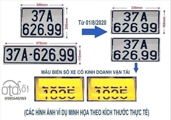 Những điểm mới cần lưu ý về đăng ký xe: cấp, thu hồi giấy đăng ký, biển số xe 2