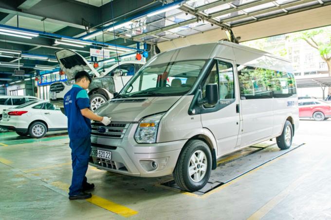 Mức tiêu thụ nhiên liệu của Ford Transit, kinh nghiệm tiết kiệm liệu cho Ford Transit