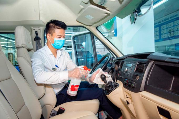Xưởng sửa chữa, bảo dưỡng, bảo hành xe Ford tại Tp Hồ Chí Minh