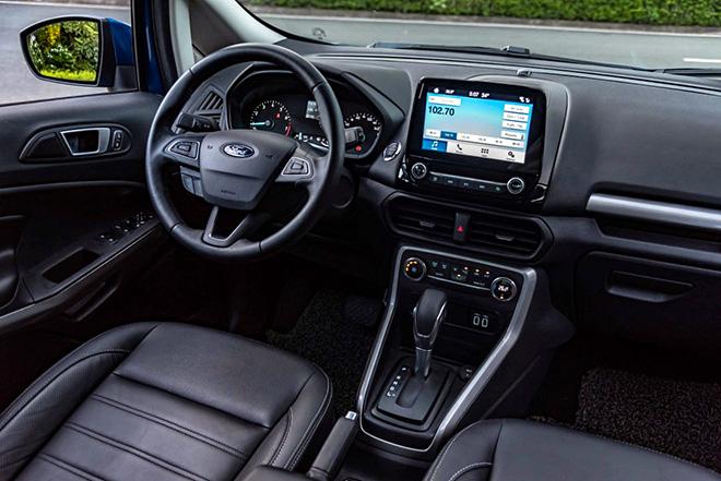 Hướng dẫn sử dụng các nút trên hộp số Ford Ecosport