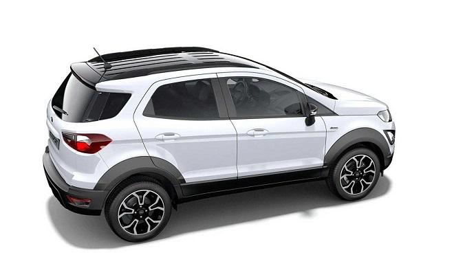 Ford EcoSport 2022 lộ diện với ngoại hình bắt mắt hơn 2