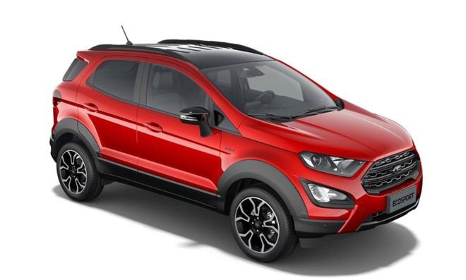 Ford EcoSport 2022 lộ diện với ngoại hình bắt mắt hơn