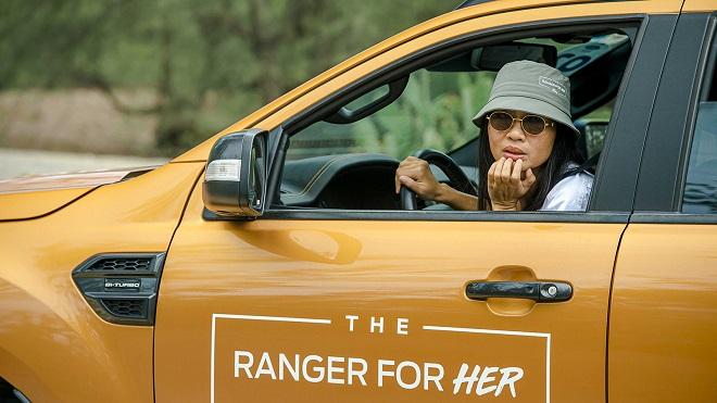 Khi Phụ nữ lấn sân sang sử dụng xe bán tải vì… Ford Ranger 4