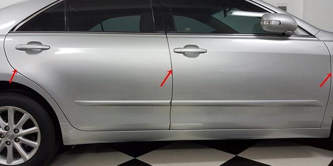 Cách nhận biêt xe ô tô cũ bị tai nạn - Kinh nghiêm mua xe cũ 4