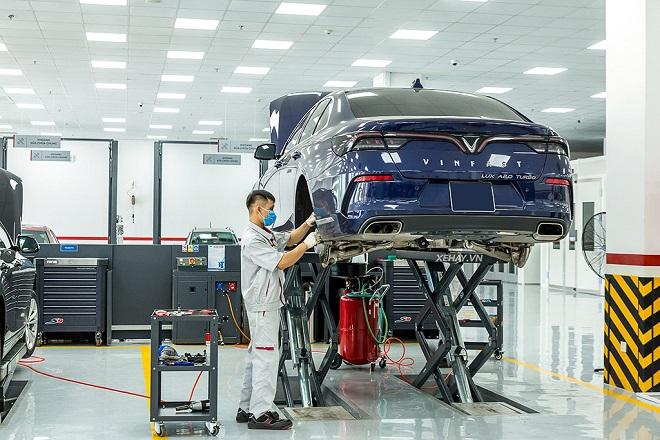 Chi phí bảo dưỡng xe VinFast Lux A 2.0 và giá phụ tùng thay thế 2