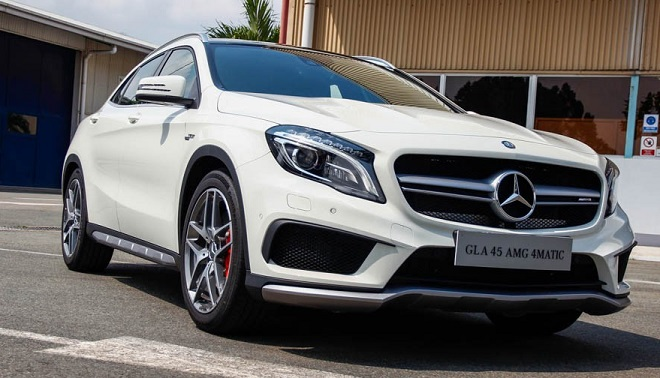 Mercedes-Benz GLA Class 4