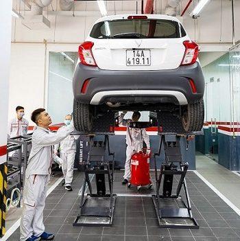 Chi phí bảo dưỡng xe VinFast Fadil và giá phụ tùng thay thế
