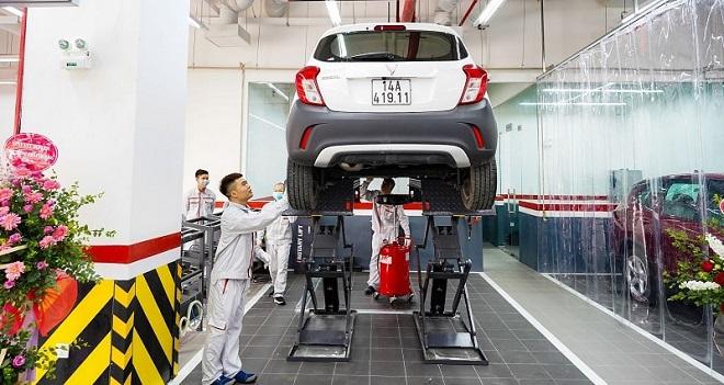 Chi phí bảo dưỡng xe VinFast Fadil và giá phụ tùng thay thế 1