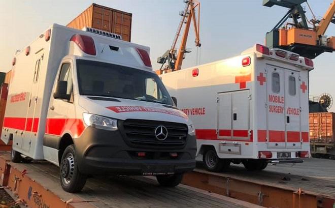 Phận biệt xe cứu thương Ambulance và xe cấp cứu Emergenncy Ambulance 4