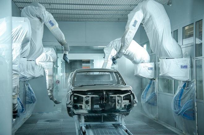Quy trình làm đồng sơn xe ô tô Ford