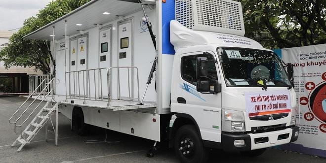 Xe khám bệnh lưu động, xe chụp X-quang và siêu âm lưu động