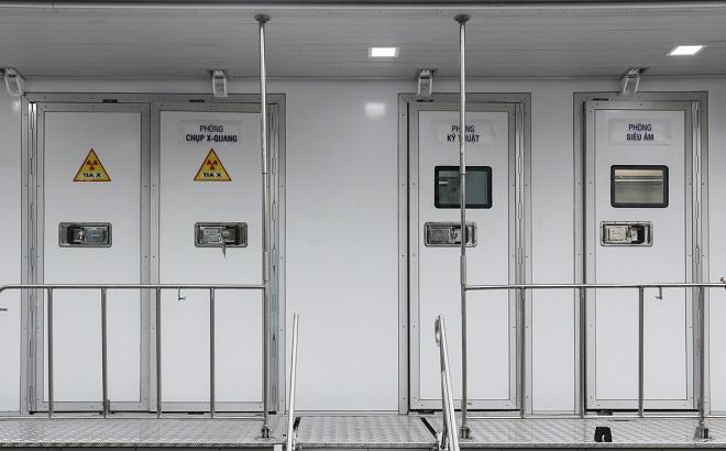 Xe khám bệnh lưu động, xe chụp X-quang và siêu âm lưu động 2