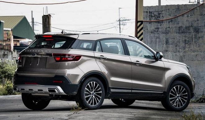 Ford Territory Trend mẫu crossover giá rẻ đáng mua 5